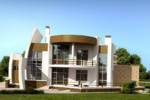 Архитектурно-строительное проектирование внешнего облика дома