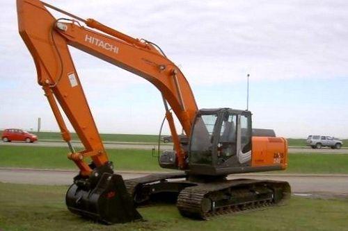 Эксплуатация экскаватора Hitachi Zaxis-5 в Германии