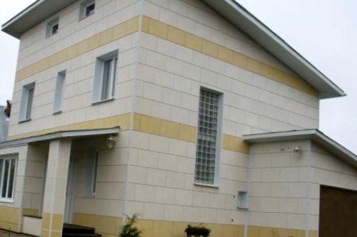 Фасады из полимерных материалов