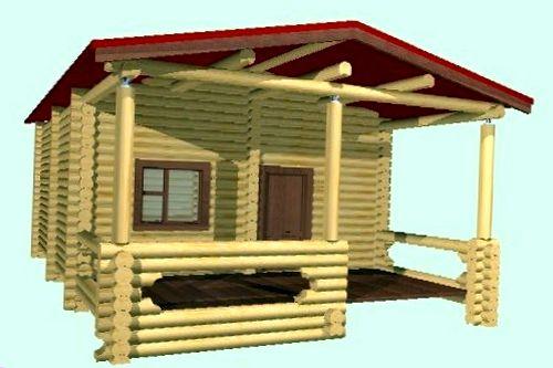 Проекты элитных деревянных домов, коттеджей, загородных