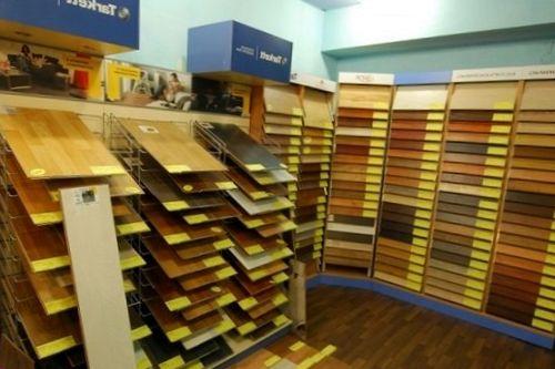 Магазины строительных материалов: выбор напольного покрытия