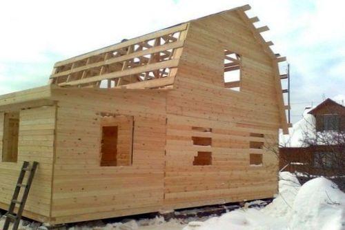 Новые технологии в строительстве домов из бруса