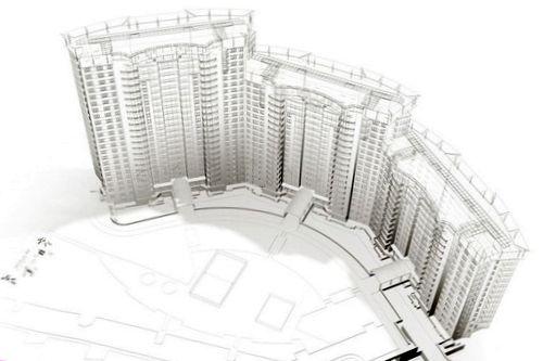 Разработка концепции здания