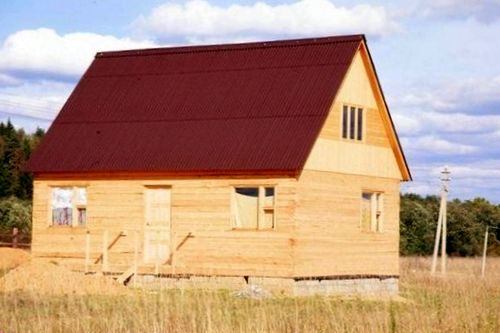 Строительство дома своими руками: «Народный экодом»