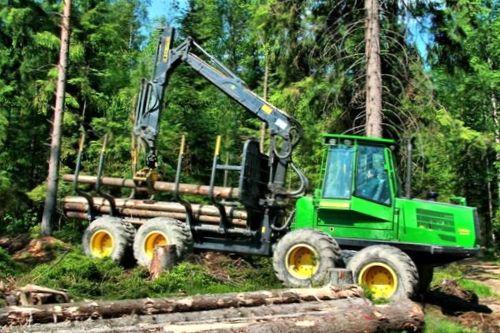 Технология строительства дорог для транспортировки леса