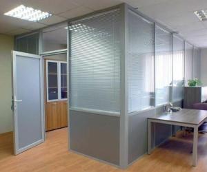 Алюминивые офисные перегородки